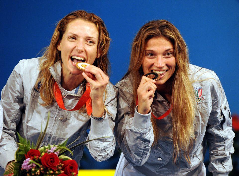 Velentina Vezzali la più medagliata Italiana