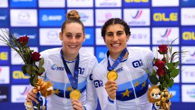Elisa Balsamo e Vittoria Guazzini campionesse di europa