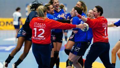 Italia pallamano accede ai Play-off per i mondiali
