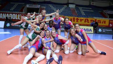 Saugella Monza vince la CEV volleyball cup 2021