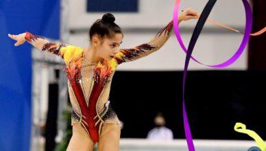 Sofia Raffaelli ginnastica ritmica serie A regular season