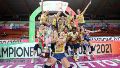 L'imoco volley Conegliano campione d'Italia 2020/2021