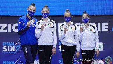 La Faber Fabriano campione d'Italia di ginnastica ritmica 2020/21