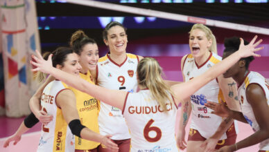Roma volley club promossa in serie A1
