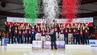 Reyer Venezia Campione d'Italia 2021