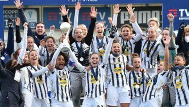 La Juventus Women è campione d'Italia