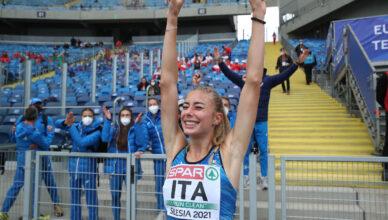 Gaia Sabbatini vince i 1500 ai campionati europei a squadre di atletica leggera