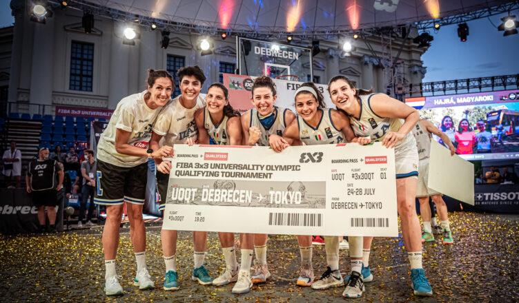 Basket 3x3 Italia qualificata ai Mondiali