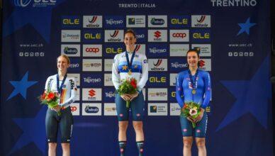 Vittoria Guazini campionessa europea ciclismo