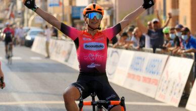 Giulia Giuliani vince la prima tappa del Giro delle Marche