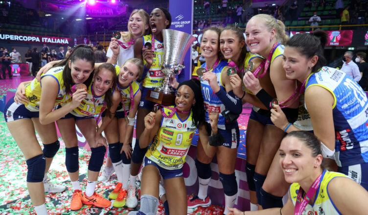 Supercoppa 2021 vince imoco volley conegliano